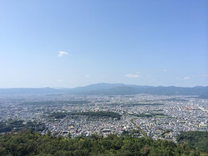 大文字山から見える景色