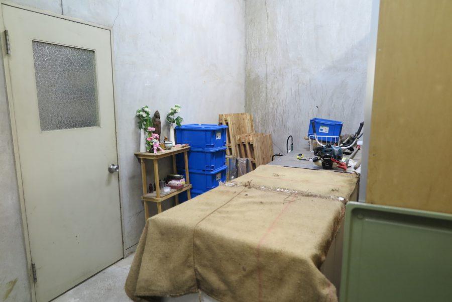瀕死の動物を保護する部屋