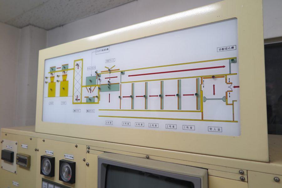 神奈川動物保護センターの殺処分機の操作機械