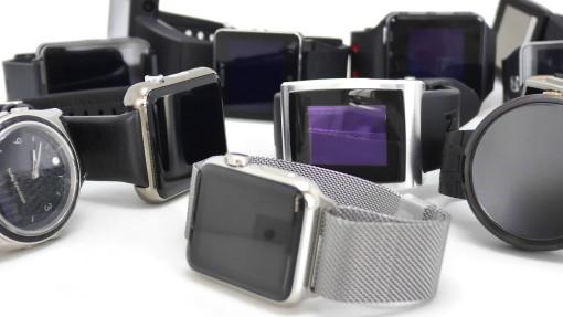 スマートな時計たち