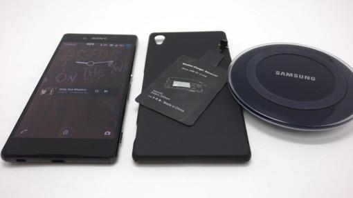Xperia Z4でQi充電