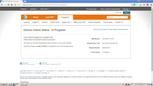 AT&T Unlock