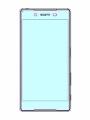 Xperia Z5用強化ガラス保護シート