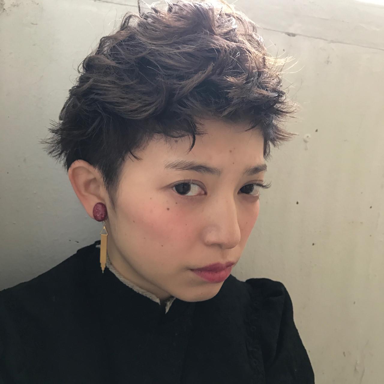 メンズ 髪型 パーマ ツーブロック ロング