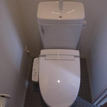 トイレも設備整っています