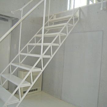 階段もデザイン