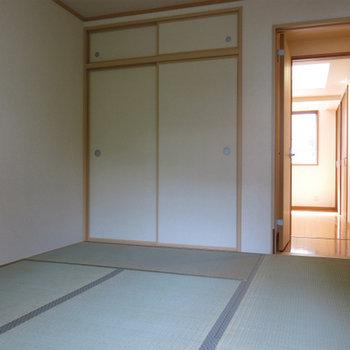 二階部分和室。