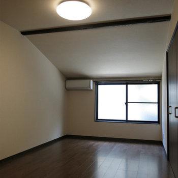 2階は天井ちょい低め。