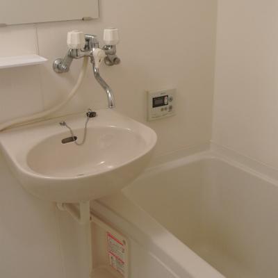 洗面台はお風呂と一緒で