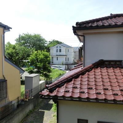 2階ベランダからの眺望です。
