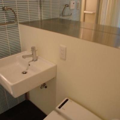 洗面台はこのように