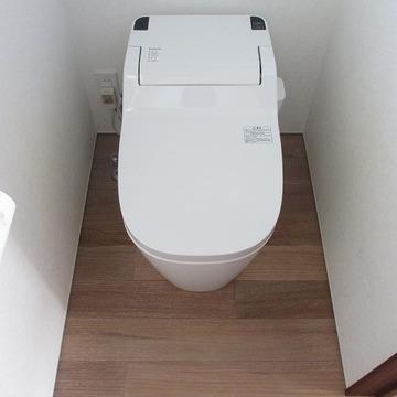 スマートなトイレ。