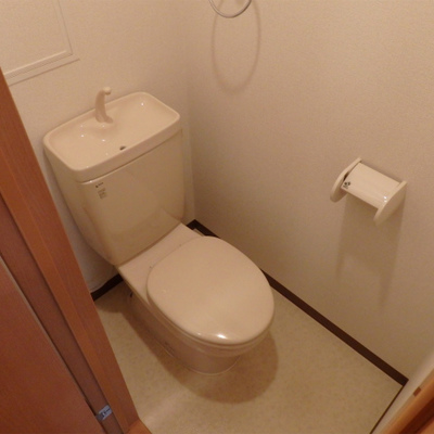ウォシュレットなしのトイレ。