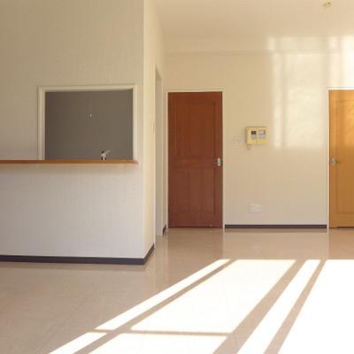 2色のドア!とっても可愛い、ほっこり。※写真は別部屋です