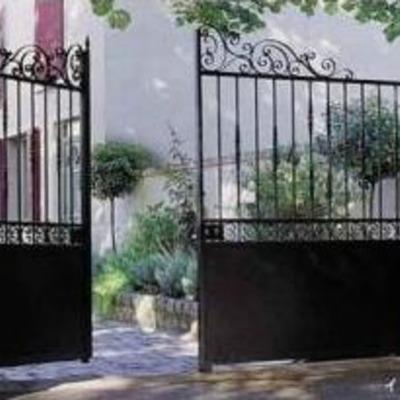 門扉のイメージ。おしゃれです