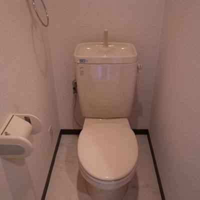 トイレはウォシュレット付きじゃないです