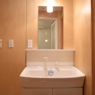 独立洗面台はいい感じのサイズです※写真は別部屋です