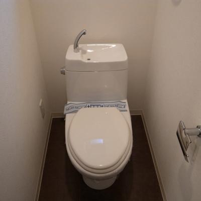 トイレはウォシュレットがついていません※写真は別部屋です。