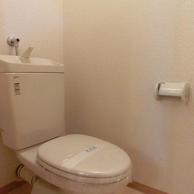 トイレは清潔感があります