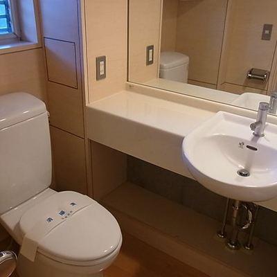 バストイレ別でトイレもキレイです。※画像は同じ間取りの別室です