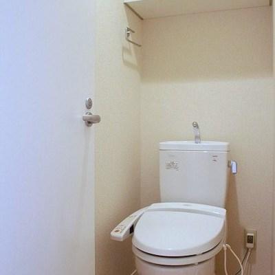 トイレも機能性抜群