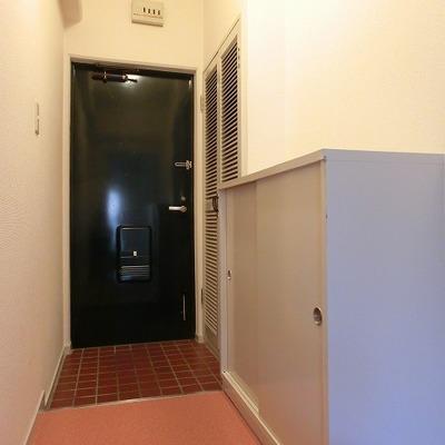 靴箱のある玄関です