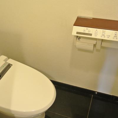 トイレは洗面台と一緒