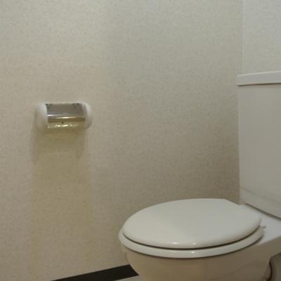 トイレはシンプルですね