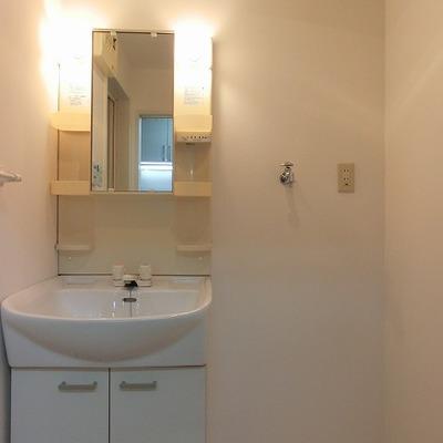 洗濯機置き場もございます、脱衣所※写真は別部屋です