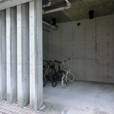駐輪・駐車スペースも完備しています!