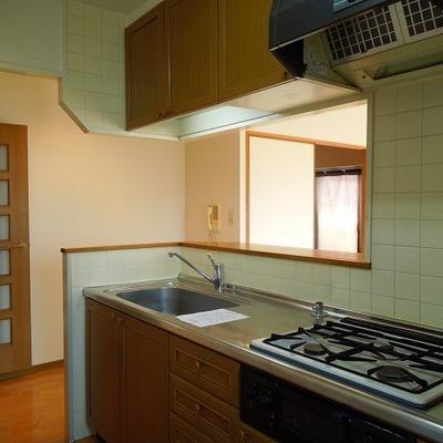 キッチン設備が充実です