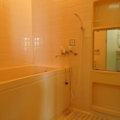 タイルがかわいいお風呂