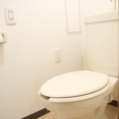トイレはシンプルだな〜