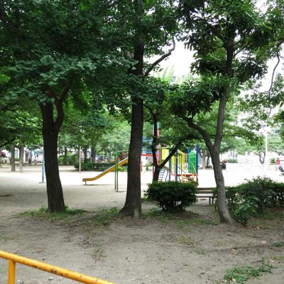 公園まで1秒です。