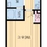 水回りコンパクト、居室は広め!