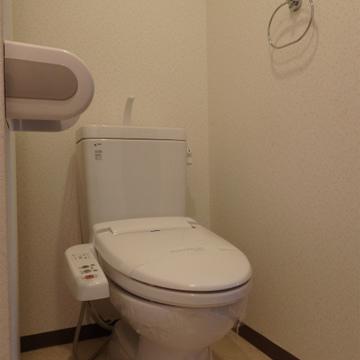 お手洗いはこちら。