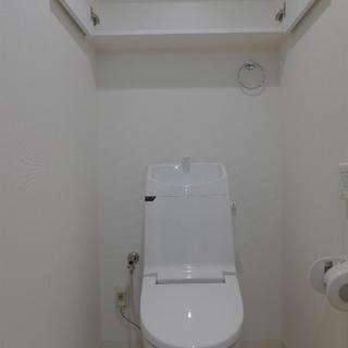 トイレもピカピカ!収納もgood!