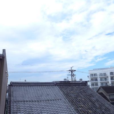 抜けています。3階でも十分な眺め!