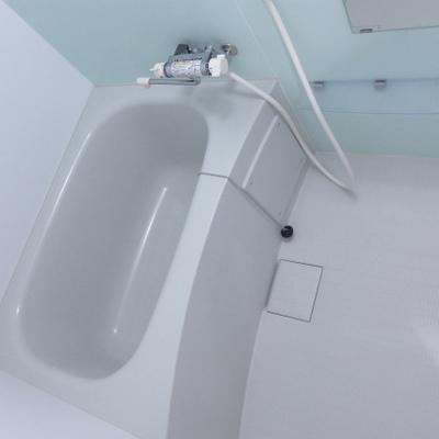 クリアなお風呂!清潔感バッチリ!