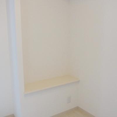 このタイプのお部屋にだけの特別なスペース