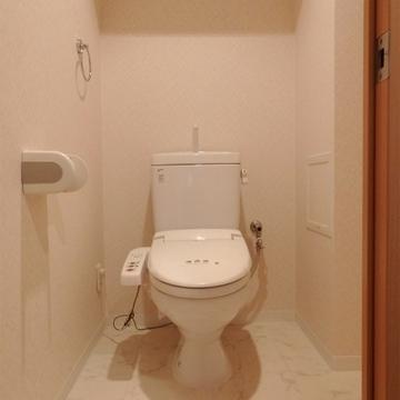 トイレは少し広め。