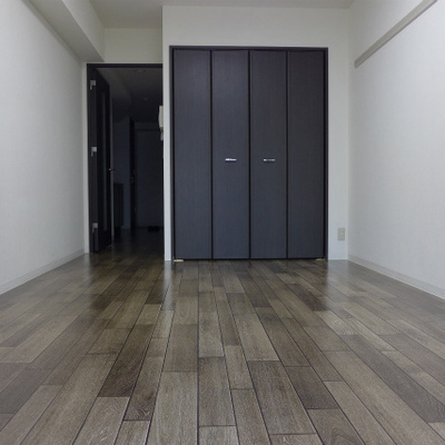 床と建具の組み合わせが良い♪落ち着きます。