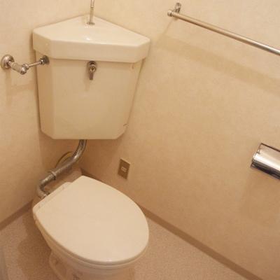 トイレも古いのが残念!