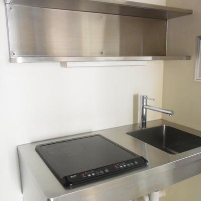 キッチンはIHの2口です