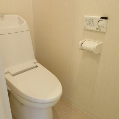 トイレはすこし奥まった感じですね