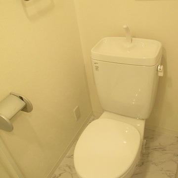 トイレもキレイ!※写真は別部屋になります。