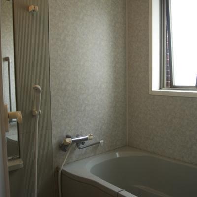 お風呂の窓はうれしいね!