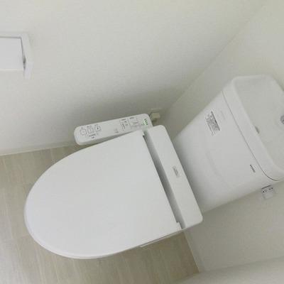 トイレもピカピカ!