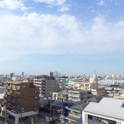 7階からの眺めgood!