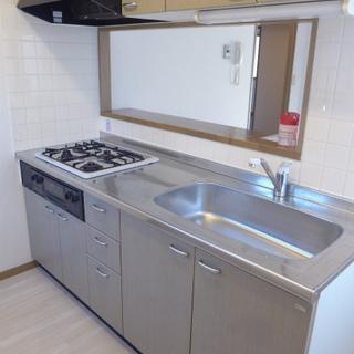 システムキッチン、設備充実です!!